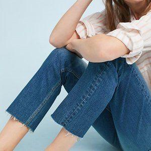 Pilcro Mid-Rise Slim Straight Jeans